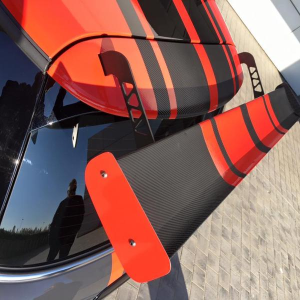 Mini John Cooper Works Challenge - Rear wing